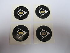 4 Logos Jantes DUNLOP PEUGEOT 504 505 604 104 204 304 R12 R15 R16 R17 Matra 530