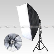 E27 50x70cm Folding Easy Softbox Light Stand Studio Continuous Lighting Kit