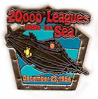 Disney DS Countdown to the Millennium Series #10 20,000 Leagues Under The Pin