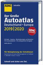 Großer ADAC Autoatlas 2019/2020,  Deutschland 1:300 000,  Europa 1:750 000,  top