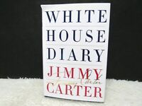 2010 White House Diary Personally Annotated Diary Of Jimmy Carter Hardback Book