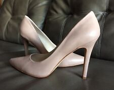 New Vince Camuto Women's Kain High Heel Shoes Nude Leather US Sz 9.5 M/EU 39.5