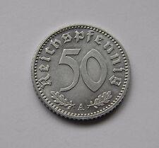 DRITTES REICH: 50 Reichspfennig 1941 A, J. 372, fast stempelglanz