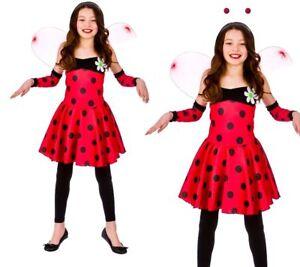 Ladybug Fancy Dress Costume Age 2-4 Ladybird