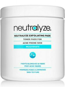 Neutralyze Exfoliating Pads Maximum Strength Acne Treatment w/ 2% Salicylic Acid