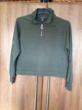 A Womans Fleece Top.Size 12-14.green.New.