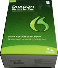 Dragon Dictate for MAC Version 3 With Headset NEW