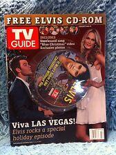 NOS ELVIS TV GUIDE DECEMBER 11-16, 2006 FREE ELVIS CD-ROM EXCLUSIVE VIDEO/PHOTOS