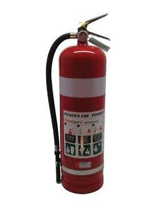 FIRE EXTINGUISHER 9KG - ABE DRY CHEMICAL - COLLECTION ORMISTON