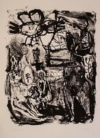 unleserlich signiert - o. T. - Lithographie - 1991 - 290/300