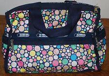 Le Sport Sac Polka Dot Purse LeSportSac Bag Cross Rare Design