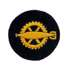 KRIEGSMARINE TORPEDO Engineer EM COMMERCE BADGE - WW2 REPRO Patch bleu marine