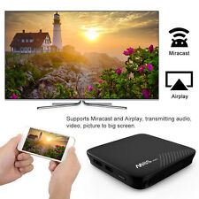 M8S PRO 4K Android 7.1 Smart TV Box 3GB DDR4 S912 Octa Core WIFI & HDMI Airplay