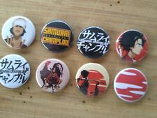 "8 1"" Samurai Champloo pinback badges buttons"