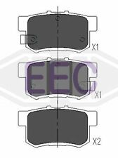 EEC Rear Brake Pads Set BRP1010  - BRAND NEW - GENUINE - 5 YEAR WARRANTY