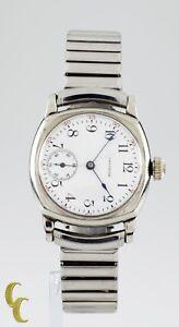 Waltham Antique 14k Gold Filled Pocket Watch Conversion w/ Expansion Bracelet