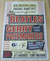 THE BEATLES: JOB LOT 3X REPRODUCTION CONCERT POSTER'S