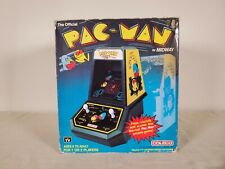 Pac-Man (Official Tabletop Arcade, 1981) Coleco Complete in Box by Midway CLEAN!