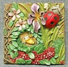 Harmony Kingdom Picturesque Byron's Bower Byron'S Garden Tile Plaque Pxga4