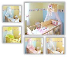 Baby Bettwäsche Himmel Nestchen Bettset 100x135cm für Babybett 120x60 & 140x70