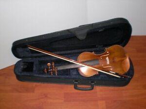 W.GRAZ - Set Violino 4/4 V1 - Vg 106 Completo di Astuccio e archetto
