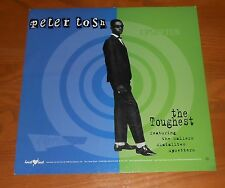 Peter Tosh Upsetter The Toughest Poster Flat Square 1996 Promo 12x12 RARE