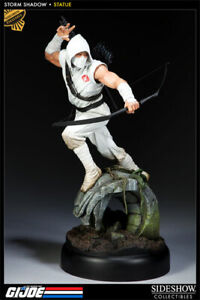 """SIDESHOW """"G.I. JOE'S""""  STORM SHADOW STATUE EXCLUSIVE! MINT! ONLY 350 MADE! RARE!"""