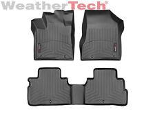 WeatherTech FloorLiner Car Mats for Nissan Murano- 15-17 -1st/2nd Row - Black