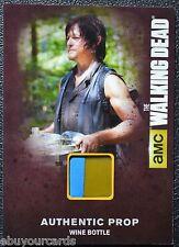 Walking Dead Season 4 Part 1 M03 VARIANT Wine Label Bottle Prop Trading Card