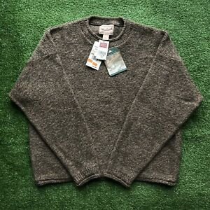 New With Tags Vintage 90s Woolrich Wool Sweater Pullover Women's Large Rare Knit