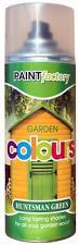 x18 chasseur vert jardin Peinture aérosol durée nuances pour bois 400ml