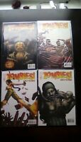 Zombies ! Eclipse of the Dead #1-4 High Grade Comic Book RM5-114