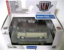 M2 Machines ® 2014 2015 1958 VW Microbus 15 Window USA Model VWS01 14-55 New