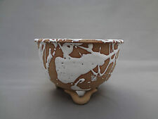 'Arita-yaki' Japanese hand made porcelain pot (4.5) Natural with white