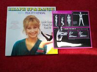 """Shape Up And Dance With Felicity Kendal 12"""" vinyl album 1981 complete"""