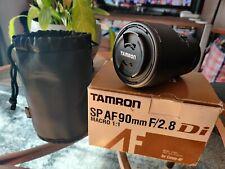 Tamron SP 272EE 90 mm f/2.8 AF Di Macro Autofocus Lens Pour Canon EOS Caméra