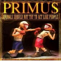 """PRIMUS """"ANIMALS SHOULD NOT TRY TO ACT LIKE PEOPLE"""" DVD+CD NEW"""