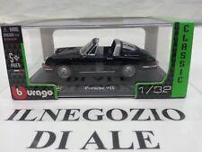 """BURAGO """"COLLEZIONE STREET CLASSIC""""MODELLINO AUTO PORSCHE 911,SCALA 1.32,DIE-CAST"""