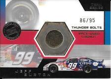 2003 Press Pass Optima Thunder Bolts #12 Jeff Burton Lugnut Relic #86/95