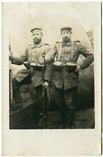 Due fantaccino! nel fosso, originale-PHOTO di 1915