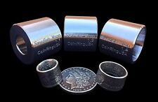 CoinRingUSA® Swedish Wrap Dies for Half Dollar & Silver Dollar-Sized Coin Rings