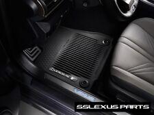 Lexus RCF (2015-2018) OEM Genuine 4pc ALL WEATHER FLOOR MATS PT206-24154-20