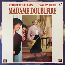LASERDISC -  MADAME DOUBTFIRE WS VF PAL-Robin Williams, Pierce Brosnan