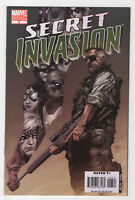 Secret Invasion #3 (Aug 2008) [1st Appearance Secret Warriors as a Team] Variant