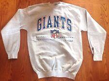 Logo Athletic Giants Bank Heavy Cotton Blend Oversized Sweatshirt Size M - Gray
