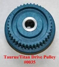 Gemini Taurus 3/2.2/II.2/Titan Ring Saw Blue Drive Pulley Gear Cog Wheel - 0035