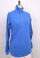 Sunice Women's Royal Blue Long Sleeve Pullover Sport Top Sz Lg