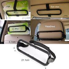 1x Car Sun Visor Tissue Paper Box Holder Auto Seat Back Accessories Clip Bracket