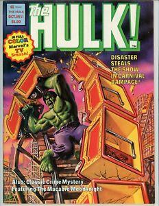 Hulk #11 Magazine, VF/NM , 1978
