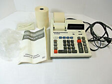 Vtg CASIO Printing Display CALCULATOR FR-1211 Electronic Box Paper Manual WORKS